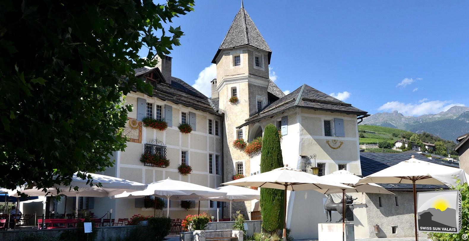 6. Swiss Sun Valais ® Vous voulez habiter à Sierre en Valais Suisse. 1er réseau immobilier du Valais ®