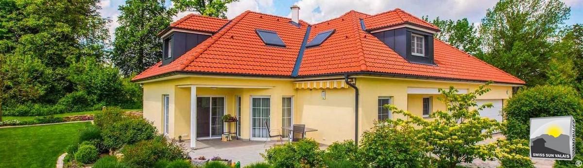 1.Swiss Sun Valais ® Vous projetez d'acheter une maison en vente en Valais Suisse. 1er réseau immobilier du Valais ®