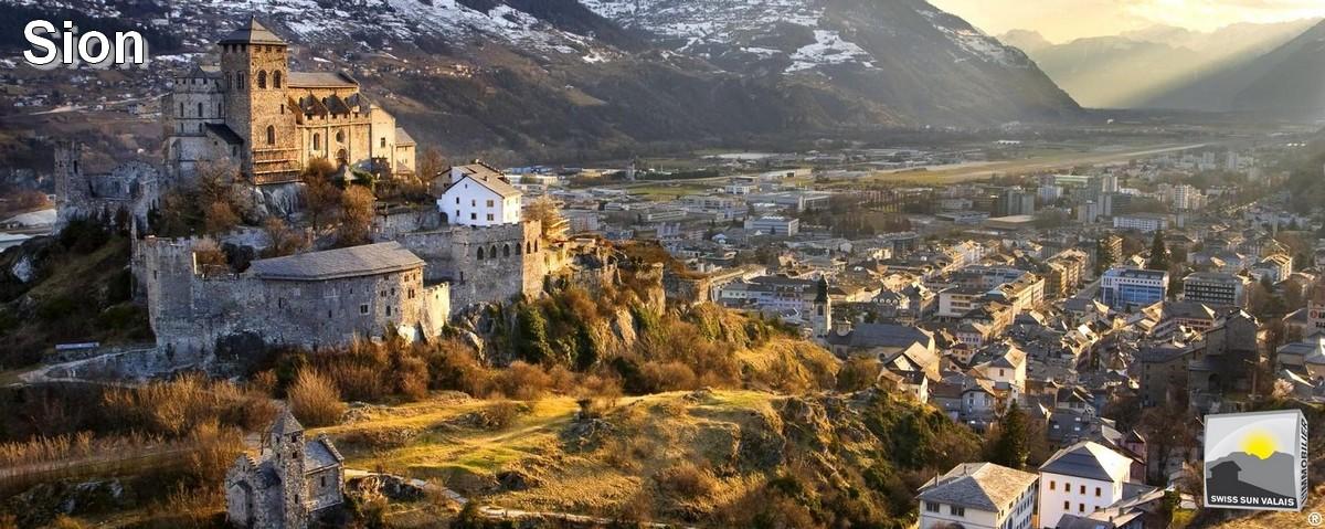 Swiss Sun Valais ® Découvrez SION, ma Capitale. 1er réseau immobilier du Valais ®