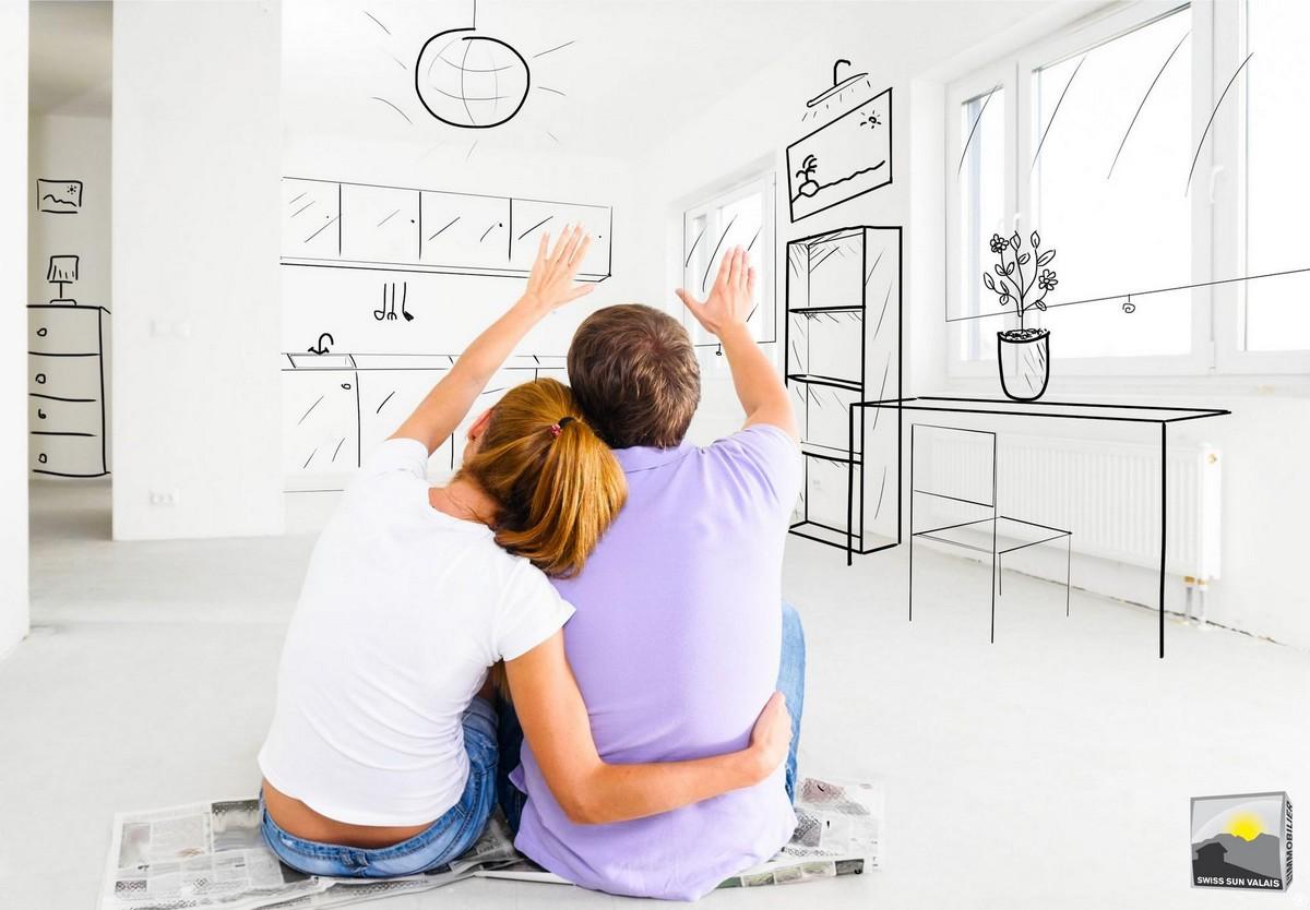 1.Swiss Sun Valais ® Vous projetez d'acheter un appartement en vente en Valais Suisse. 1er réseau immobilier du Valais ®