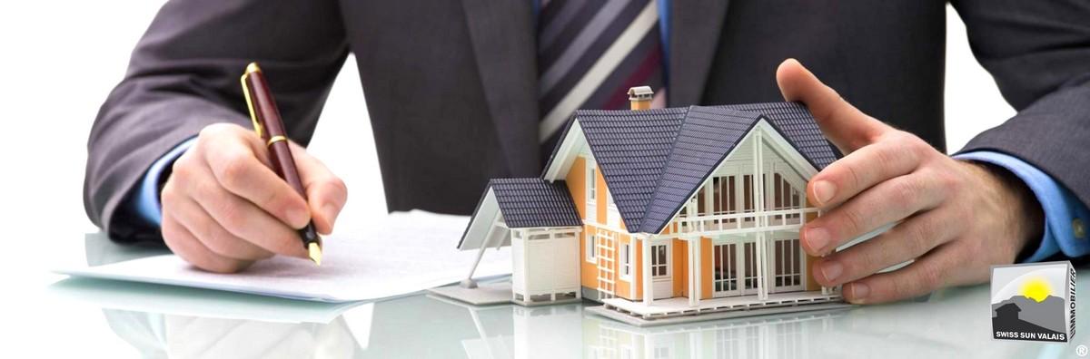 7. Swiss Sun Valais ® Vous signez votre acte de vente immobilière en Valais Suisse. 1er réseau immobilier du Valais ®