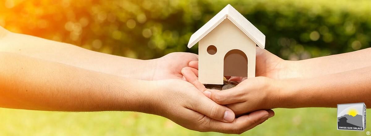 14. Swiss Sun Valais ® Vos démarches de vente de votre bien immobilier aboutissent en Valais Suisse. 1er réseau immobilier du Valais ®
