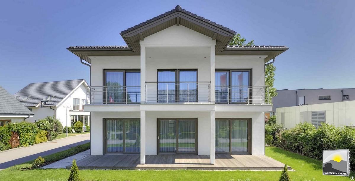 1.Swiss Sun Valais ® Vous projetez d'acheter une villa en vente en Valais Suisse. 1er réseau immobilier du Valais ®