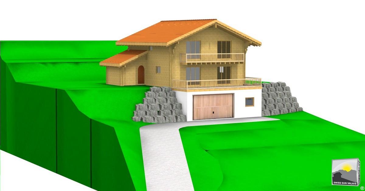 12.Swiss Sun Valais ® Nous vendons votre terrain à bâtir en Valais Suisse. 1er réseau immobilier du Valais ®
