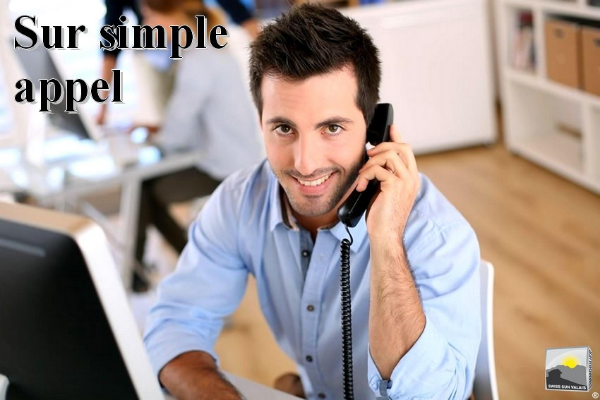 2.Swiss Sun Valais ® Vous prenez contact pour apporter un bien immobilier à la vente en Valais Suisse. 1er réseau immobilier du Valais ®